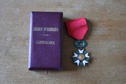 Légion D'Honneur Avec Coffret Chevalier - Non Classés