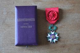 Légion D'Honneur Avec Coffret Officier - Non Classificati