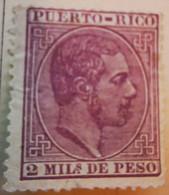 Puerto-Rico - Colonies Espagnoles - 1882-84- Y&T N°57 - 2 M. Violet N°58 4 M. Lilas-gris -  /*/ Et /0/ - Porto Rico