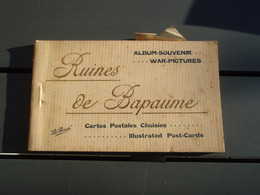 Album-souvenir - Ruines De Bapaume - 12 Cpa - - Bapaume