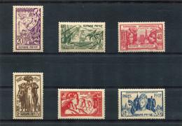 GUYANE  FRANCAISE  N°  143 A 148 **  (Y&T)  (Neuf) - Unused Stamps
