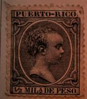 Puerto-Rico - Colonies Espagnoles - 1890- Y&T N°71, N°73 Et N° 77 Et N°80 /*/ - Porto Rico