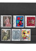 1483 France Lot De 6 Tableaux  Dont ARPHILA 75 PARIS Oblitérés - Used Stamps