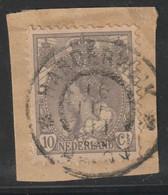 Nederland 1899  NVPH Nr.   62  Used   Stempel Beverwijk - Usados
