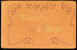Ricordo Di Capri Libreto Quaderno Con 12 Cartoline - Zonder Classificatie