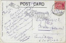 Postes Militaires Belgique Legerposterij 1917 'Censuur Gepasseerd' Censure Militaire Zegel 10 C - Belgisch Leger