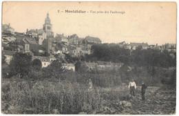 MONTDIDIER SOMME : VUE PRISE DES FAUBOURGS - EDITION N° 2 - CIRCULE RENNES MILITARIA ARTILLERIE - Montdidier
