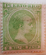Puerto-Rico - Colonies Espagnoles - 1894- Y&T N°117, N°119, Et N°115 /*/ - Porto Rico