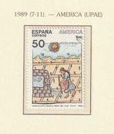 Spain Espagne 1989 America UPAEP - Art Of Native Americans  1v ** - Mi 2915 - 1981-90 Ungebraucht