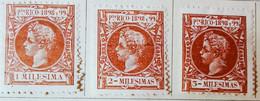 Puerto-Rico - Colonies Espagnoles - 1898- Y&T N°131, N°132, Et N°133 /*/ - Porto Rico
