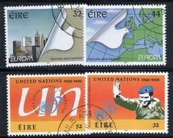 Irlande 1995 Mi. 890-91, 920-21 Oblitéré 100% Nations - Usados