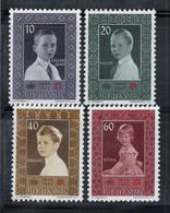 Liechtenstein 1955 Mi. 338-341 Neuf ** 100% Croix-Rouge, Enfants - Unused Stamps