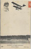 AVIATEUR FRANCAIS BATHIAT NE A DOUAI 59 1867/1967 SUR BIPLAN AVION BREGUET MOTEUR GNOME - Aviatori