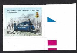"""Italia, Italy, Italien 2020; Ispettorato Di Pubblica Sicurezza """"Vaticano"""" : Stemma - Stamps"""
