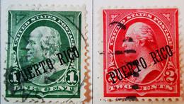 Puerto-Rico - Colonies Espagnoles - 1898- Y&T N°138, N°152, N°174, N°177 Et N°180 /0/ - Porto Rico