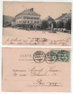 Suisse // Neuchâtel //  Les Brenets, La Place - NE Neuchatel