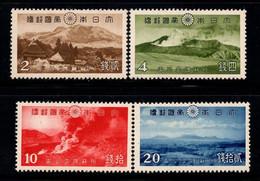 Japon 1939 Mi. 280-283 Neuf ** 80% Aso Kuju, Parc National - Nuevos