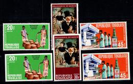 Togo 1968 Mi. 641AB-643AB Neuf ** 100% Industrie - Togo (1960-...)