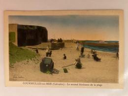 Courseulles-sur-Mer - Le Second Blockauss De La Plage - Courseulles-sur-Mer
