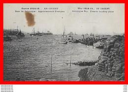 CPA MILITARIA. Guerre 1914-15 En Orient. Baie De Salonique, Appontements Français, Bateaux...H921 - War 1914-18