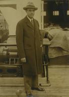 USA W. Averell Harriman Exploitation Des Mines De Manganese En Russie Ancienne Photo Presse 1925 - Oud (voor 1900)