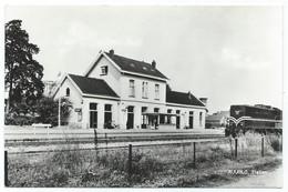 Ruurlo Station Diesel Train Trein Spoorweg Railway Eisenbahn Chemin De Fer Gare Bahnhof 1960s - Sonstige