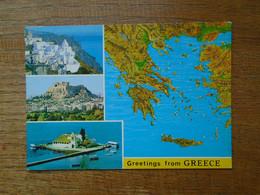 Grèce , Multi-vues - Griekenland