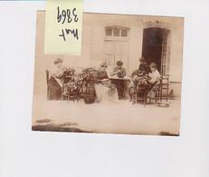 AIX EN OTHE TRICOTEUSE DE BAS A LA MACHINE 10 AUBE PHOTO ORIGINALE  15X12  Attinger Paris - Plaatsen
