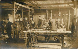 FRIEDRICHSFELD CARTE PHOTO CAMP DE PRISONNIERS - Guerra 1914-18