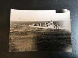 PHOTO Avant Novemvre 1942 - CONTRE TORPILLEUR «CASSARD X71» - Boten
