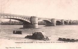 5888 Carte Postale  TARASCON BEAUCAIRE Le Viaduc Du Chemin De Fer       ( Scan Recto Verso) 13 Bouches Du Rhône - Tarascon