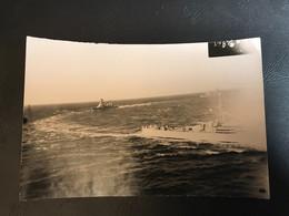 PHOTO Avant Novemvre 1942 - CROISEURS «FOCH - ALGERIE» - Boten