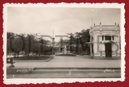 CABO VERDE - SAO VICENTE - MINDELO - JARDIM - 1940 REAL PHOTO - Plaatsen