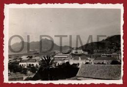 CABO VERDE - SAO VICENTE - MINDELO - VISTA TIRADA DO PALACIO DO GOVERNADOR - 1940 REAL PHOTO - Plaatsen