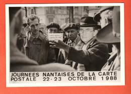 ZHI-01 Photographe Bonnel Numérotée 70/100 Nantes Journées Nantaises De La Carte Postale Octobre 1988 - Nantes