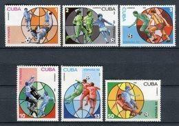 Cuba 1981. Yvert 2249-54 ** MNH. - Neufs