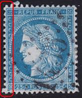 N°60A Fort Dédoublement Du Filet Gauche, Position 148G1 2ème état, TB Et Très Bon Centrage, TB Et RR - 1871-1875 Ceres