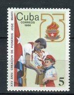 Cuba 1986. Yvert 2680 ** MNH. - Neufs