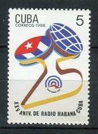 Cuba 1986. Yvert 2693 ** MNH. - Neufs