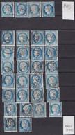 N°60C Lot De 137 Timbres Oblitérés Cachet à Date, Classés Par Date Depuis Mars 1876, Très Intéressant Avec Beaucoup De V - 1871-1875 Ceres