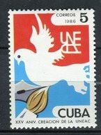 Cuba 1986. Yvert 2705 ** MNH. - Neufs
