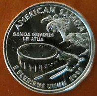 Quarter Dollar USA état American Samoa 2009 UNC  Territorial Quarter - 1999-2009: State Quarters