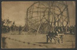 SALONIQUE - German Zeppelin Shot Down In Thessaloniki In 1916 Old Postcard (see Sales Conditions) 03463 - Griekenland