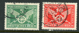 """Germany Deutsches Reich USED 1925 """"German Traffic Exhibition"""" - Used Stamps"""