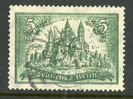 """Germany Deutsches Reich USED 1925 """"Speyer Cathedral"""" - Used Stamps"""