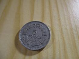 France - 5 Francs Lavrillier 1947 Alu.N°1751. - J. 5 Francs
