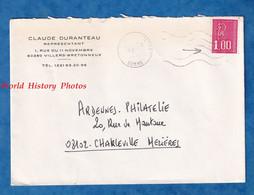 Enveloppe Ancienne - VILLERS BRETONNEUX ( Somme ) - Claude DURANTEAU Représentant - 1977 - Rue Du 11 Novembre - Covers & Documents
