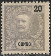 Angola – 1898 King Carlos 20 Réis - Angola