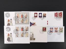 Lettland Kpl. Jahrgang 1993 Ersttagsbriefe/ FDC (E806 - Lettonie