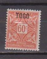 TOGO            N°  TAXE 7  NEUF AVEC CHARNIERES        ( Ch     3/60    ) - Ungebraucht